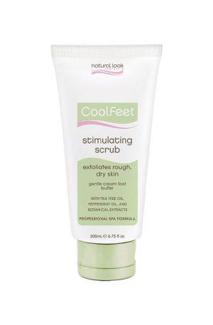 Natural Look Cool Feet Stimulating Scrub