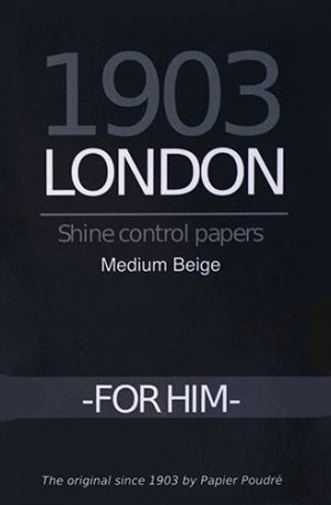 1903 London For Him Shine Control Powdered Paper