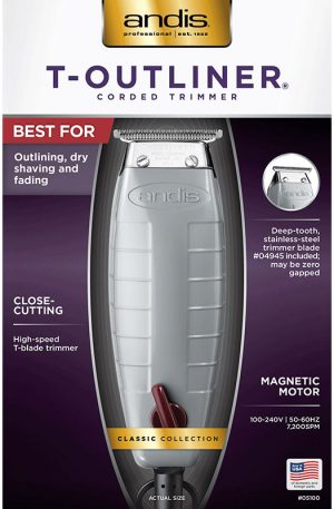 ANDIS Corded T-Outliner Trimmer