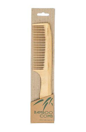 Bamboo Handle Comb