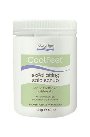 Natural Look Cool Feet Exfoliating Salt Scrub