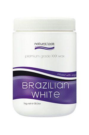 Natural Look Brazilian White Warm Depilatory Wax