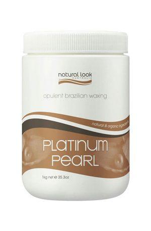 Natural Look Platinum Pearl Warm Depilatory Wax