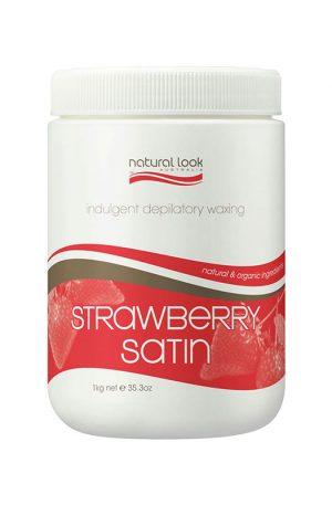 Natural Look Strawberry Satin Depilatory Wax Warm