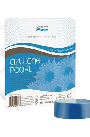 Natural Look Azulene Pearl Depilatory Wax Hot