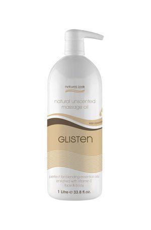Natural Look Glisten Unscented Body Massage Oil