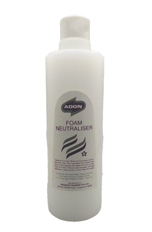 Adon Foam Neutraliser. Step 2 in the hair perming process to lock in curls. More liquid in texture to ensure even distribution over perm rods.