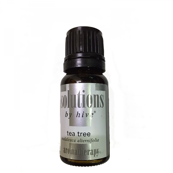 Hive Tea Tree Essential Oil. Anti-Bacterial, Anti-Sceptic, Anti-Fungal Properties. Soothe Skin Inflammation. Fight Acne. Relieve Psoriasis.