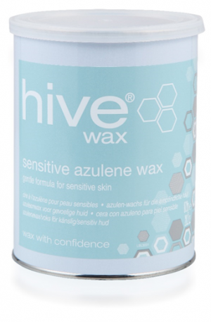 Hive Sensitive Azulene Wax. Uses the purest ingredients to ensure a gentle waxing experience. Suitable for all skin types, especially for sensitive skin.
