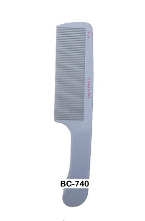 Combank Handle Comb. Wider teeth than other combs. Lifts your hair with minimum damage, allows smooth detangling and is easy to use. Mainly used by barbers.