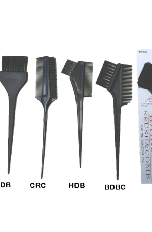 Hair Dye Brushes. Spread colour evenly on hair. Can be used for dyeing, bleaching, highlighting, balayage. 6 Variations.
