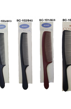 Hand Made Handle Combs. Wider teeth than other combs. Lifts your hair with minimum damage, allows smooth detangling and is easy to use.