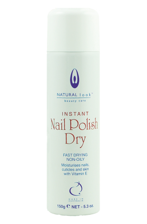 Hand & Nail Nail Polish Dry. Fast-drying, non-oily formula that will moisturise your nails and cuticles. Prevent smearing.