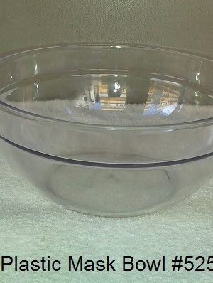 Plastic Facial Bowl. Put in facial mask/solution in the bowl. 2 Variations:525 (Big), 511.