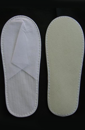 Disposable Non-Woven Slipper. For beauty salons. Dark Blue. Sold as 1 Pair or 10 Pairs.