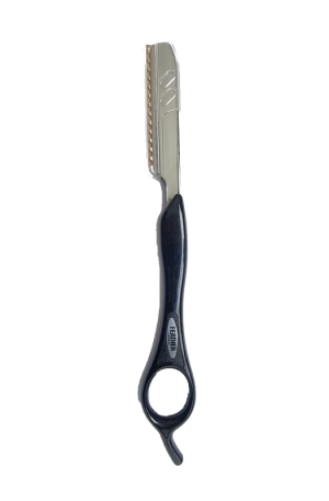 Feather Styling Razor. 19cm (L), 2.5 (W). Made in Japan.