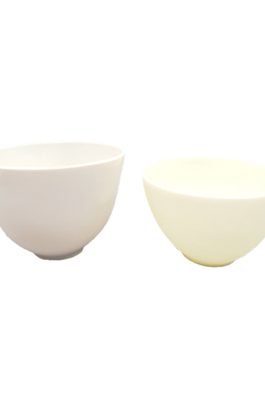 Soft Mask Bowls. For Beauty Salons. 2 Variations: Korean Soft Mask Bowl (12cm), Large Soft Mask Bowl (13cm).