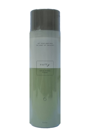 Ford Noffy Wave Make Foam. Perm style easy remake. Elastic wave that returns firmly with soft foam.The style continues without solidifying. 220g. Made in Japan.